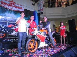 pemilik pertama Honda All New CBR 150 R untuk wilayah Jawa Barat