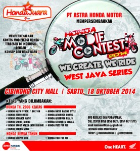 Honda Modif Contest