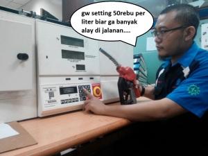 AA Ikhwan tukang setting BBM