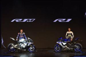 Yamaha dengan Bangga memperkenalkan R1 dan R1 M
