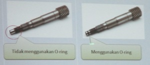 drive shaft Esp tanpa O ring
