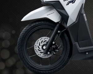 Vario 150 new wheel design