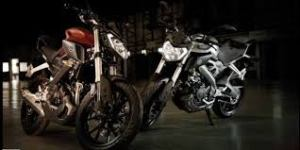 desain meruncing racy khas Yamaha