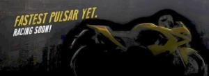 teaser Pulsar RS 200, racing soon....