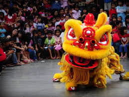 Singa barongsai seni tradisional China