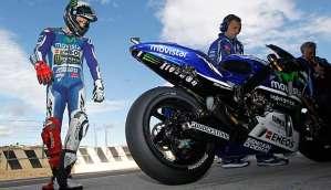 Jorge Lorenzo Yamaha M1