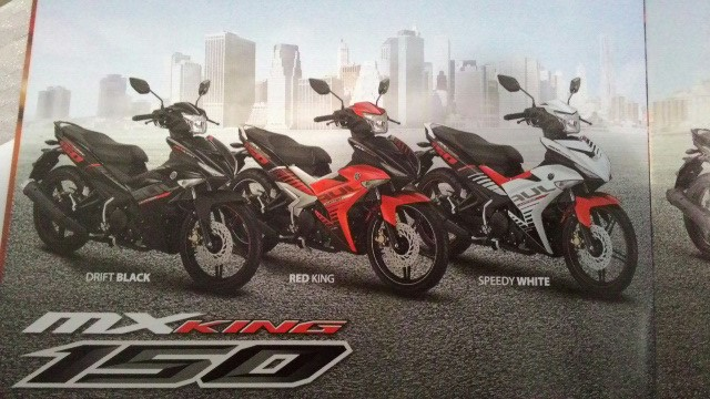 Warna Jupiter MX King 150 2