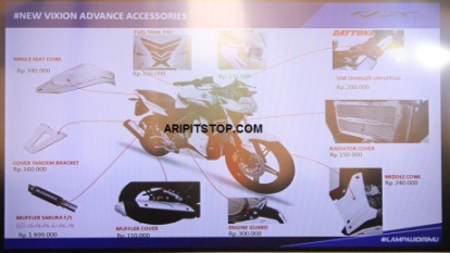 accesories new vixion advance