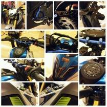 Harga 14 aksesoris resmi Yamaha Xabre