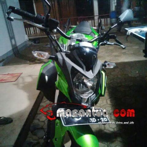 modifikasi Kawasaki Z250SL raiser stang Byson macantua.com