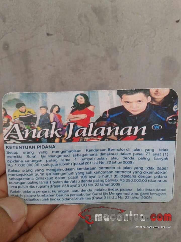 sim kartu anggota anak jalanan 2 macantua.com