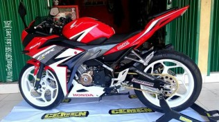 All New CBR 150 Facelift Champion Red Modif 2