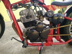 Yamaha Scorpio modif chooper. 10