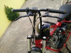 Yamaha Scorpio modif chooper. 9
