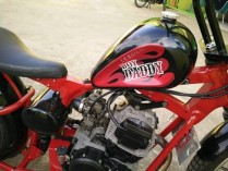 Yamaha Scorpio modif chooper 3