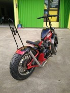 Yamaha Scorpio modif chooper 5