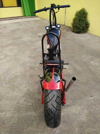 Yamaha Scorpio modif chooper 7