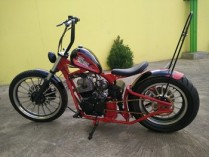 Yamaha Scorpio modif chooper 2