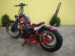 Yamaha Scorpio modif chooper 6