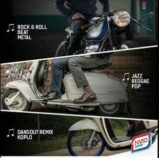 Jenis motor dan selera musik