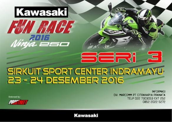 Kawasaki ninja fun race 2016