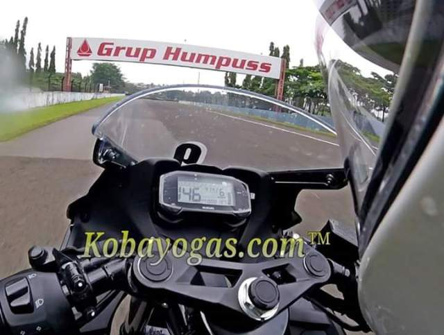Top speed gsx r150 sentul