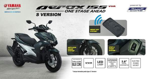 Aerox 155 vvs S version