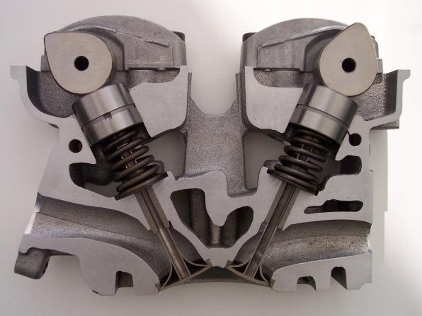 DOHC Engine head