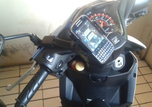 Bracket handphone